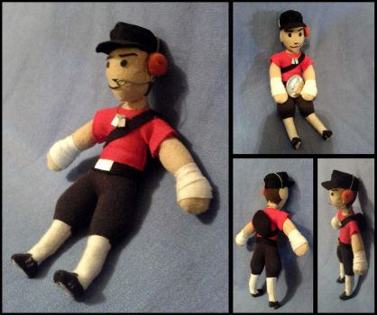 TF2 Scout Mini Plushie by Threnodi