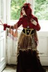 STOCK - Steampunk in Red by Apsara-Stock