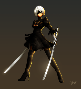 2B double blade by EastCoastCanuck