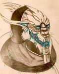 Saren by GhostFreak-Artz