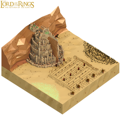 Epic Battle Series - The Battle of Minas Tirith by kautsar211086