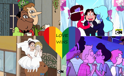 Animated LGBT Couples: Love Wins by DiscordantPrincess