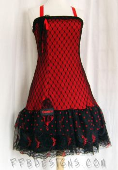 Vampire bat dress by funkyfunnybone