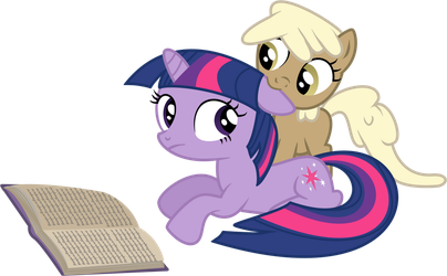 Filly Sandy and Twilight by Sintakhra