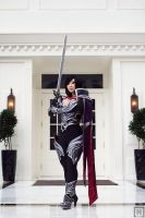 Nightraven Fiora | League of Legends by m-squaredphotography
