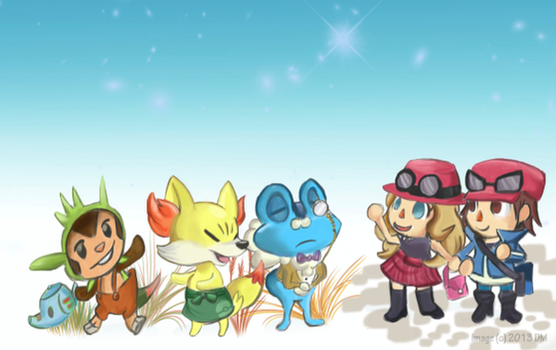 Welcome to PKMN Crossing! by BeadzyAi