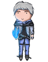 Frosted Ez Chibi by FishKa1