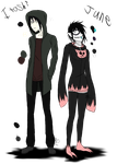 June and Itoshi redesign by DiduNasty850