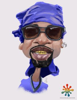 Caricature Gtoon by haroldgeorge-gsting