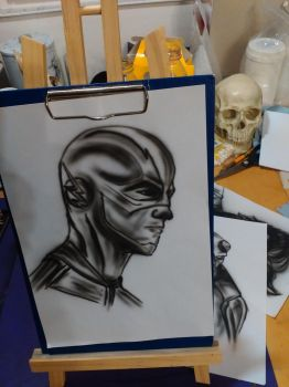 Flash Gordon airbrush by KilledCZ