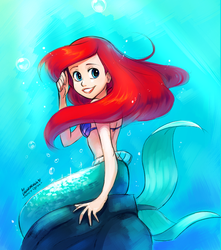Ariel by Drawloverlala