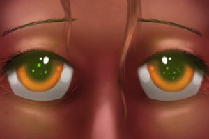 Fire Eyes by Firgof