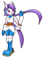 Freedom Planet 2 - Sash Lilac by Flam3Zero