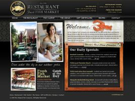 Fish Restaurant Website 1 by Cameron-Schuyler