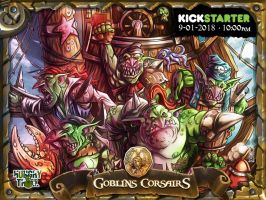 Goblins Corsairs Hungry Troll by LANZAestudio