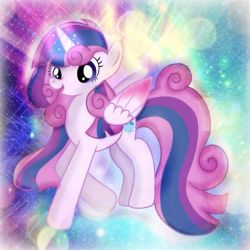 Twilight and Flurry Heart Fusion(With Edits) by DoraeArtDreams-Aspy