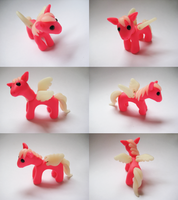 Pink Little Pony by vonBorowsky