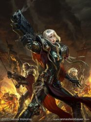 Codex: Adepta Sororitas by depingo