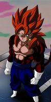 VEGETTO SSJ4 by AlejandroDBS