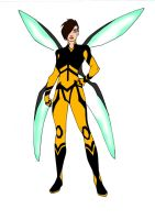 Wasp Redesign! by Comicbookguy54321