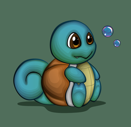 Squirtle by Cow-Tail