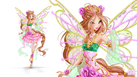 Flora Nymphix (Commission) by WinxClubRus