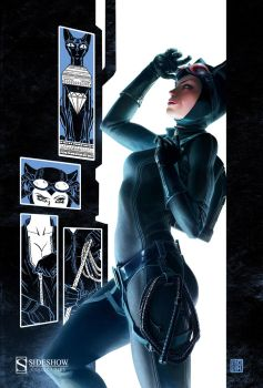 Sideshow Collectibles: Catwoman by FabianMonk