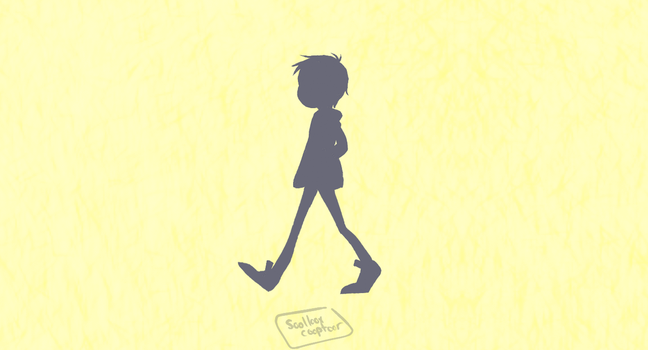 Lance Walking Cycle (GIF) by dessyxwessy