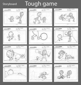 Tough game - Storyboard by PedroTurano