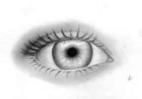 Eye drawing by me3009