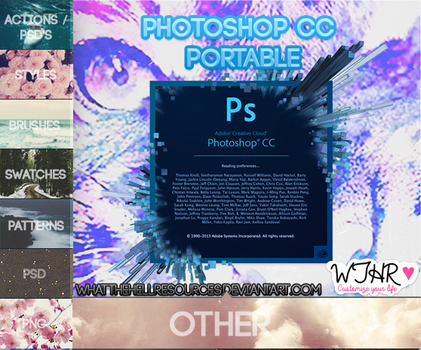 Photoshop CC Portable | PROGRAMAS | by WhatTheHellResources