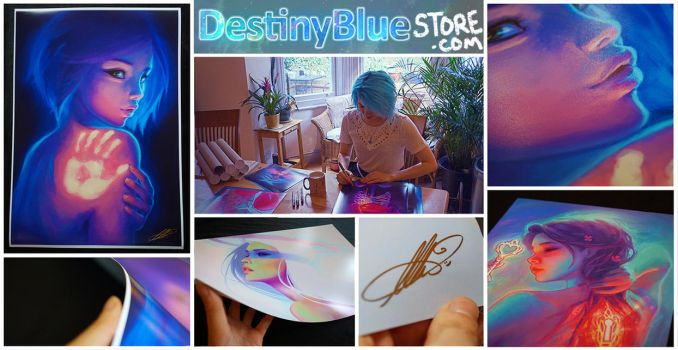 Print Store Open - Free Shipping! by DestinyBlue