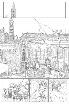 Frankenstein sample page 1 by kevinenhart