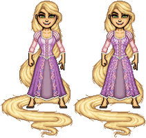 Disney Princess - Rapunzel by ThatsSoHaydn