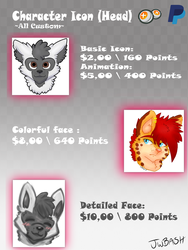Icon Commission Info by jwbash
