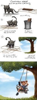 How to build a CatSwing by DanielaUhlig
