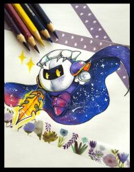 May 3  Meta Knight by PaperLillie