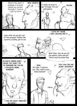 Merlin of Amber and Chaos pg 2 by supremetechgoddess