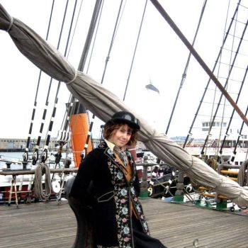 Lady Almira on the Ship by HMSChronabelle
