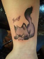 Fox Tat by kidbrainer