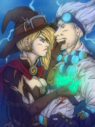 The Witch and The Doctor by PhaseChan