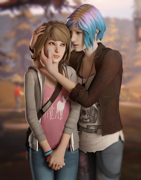 Life is Strange - Max and Chloe by Mary-O-o