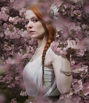 Cherry Blossom Girl by AlineDesignBrasil