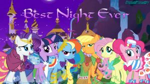 Best Night Ever Wallpaper by AceofPonies