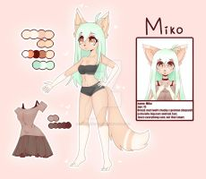 Mikos new refreance sheet ^v^ by KawaiiWoofy