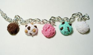 Ice Cream Scoop Bracelet by paperfaceparade
