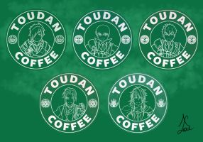 Toudan Coffee - Osafune Set by AlaudeSketchbook