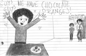 Chocolate Oranges by girlwitharubbersoul