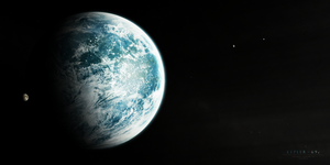Kepler-69c by Alpha-Element