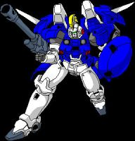 tallgeese 2 tracing in windows paint by megamike75